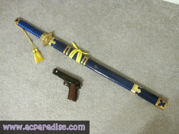 Rin Okumura Sword Blue Exorcist by waynekaa