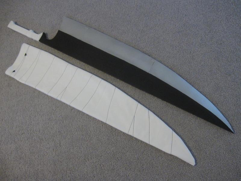 Zangetsu Sword Replica Ichigo Zangetsu Shikai...