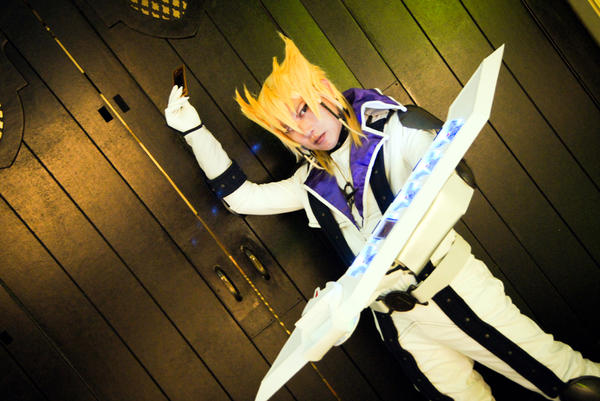 Jack Atlas from Yu-Gi-Oh! 5Ds Cosplay by waynekaa