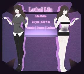 {Creepypasta OC} Lethal Lila by Scarmmetry