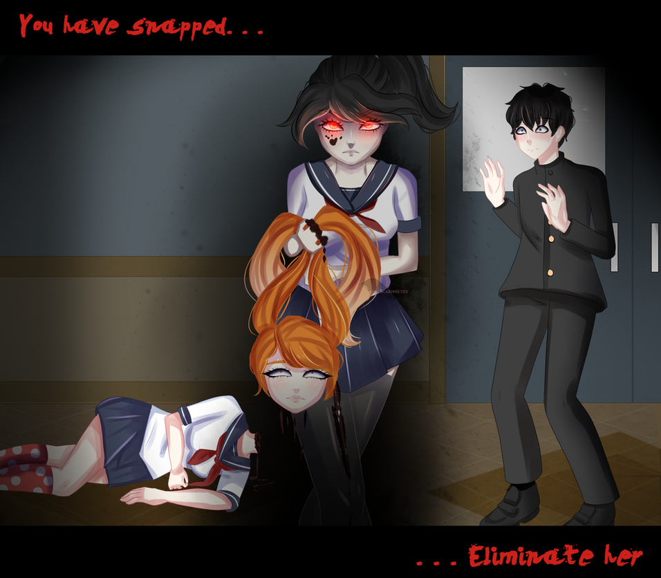 Yandere Simulator Snap Speedpaint By Scarmmetry On