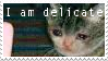 I Am Delicate | F2U STAMP by Scarmmetry