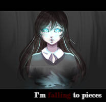 I'm Falling To Pieces {Creepypasta OC} +SPEEDPAINT by Scarmmetry