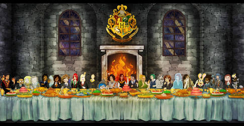 Merry Potter Xmas ! by Looche