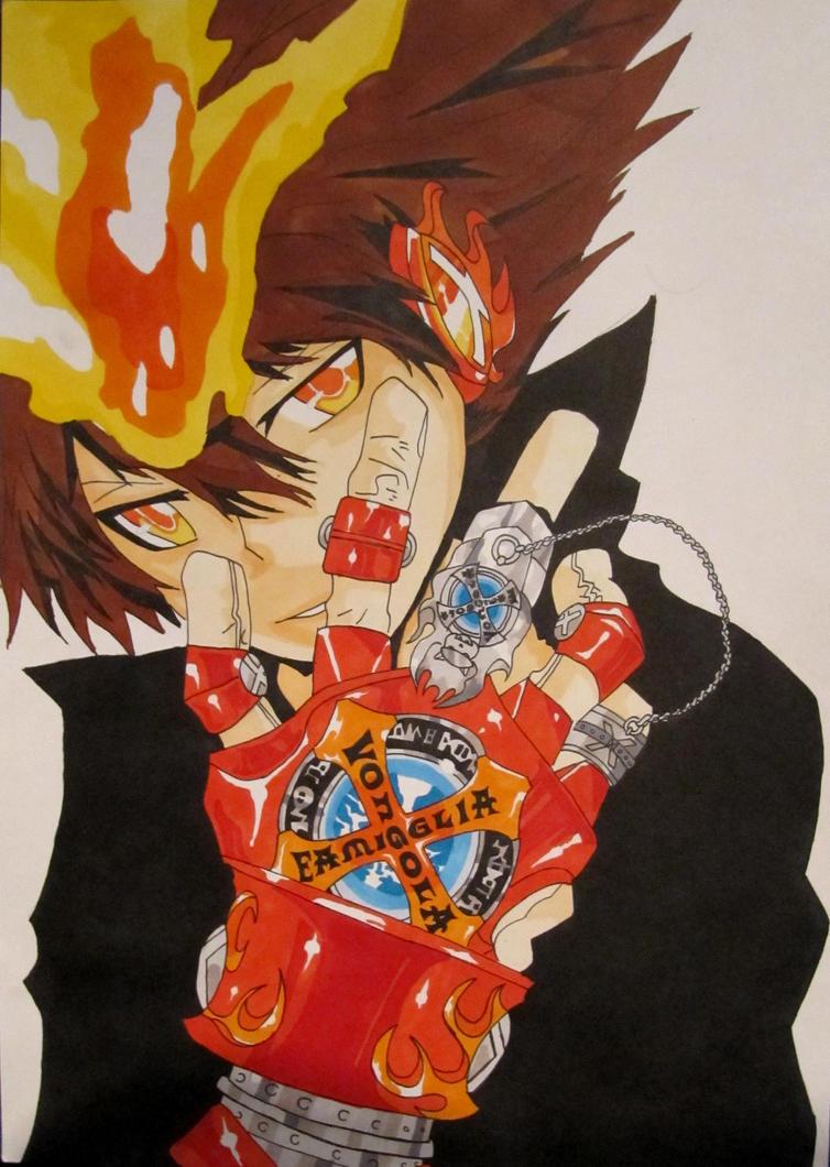 X gloves - version X by Fire-Natsu