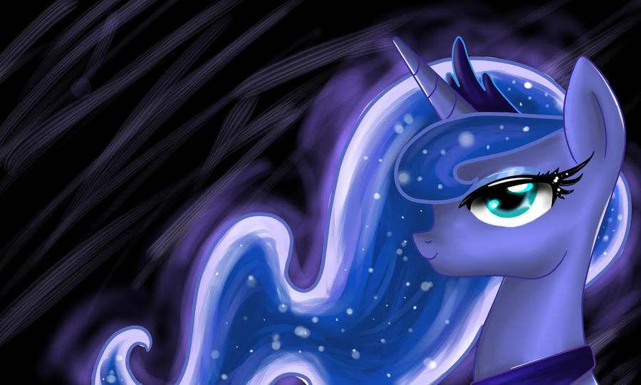 Princess Luna by Fire-Natsu