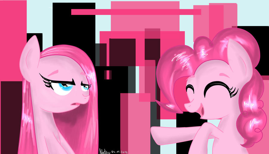 Two sides of Pinkie by Fire-Natsu
