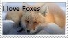 Fox Love Stamp- Redone by TakigiKitsu
