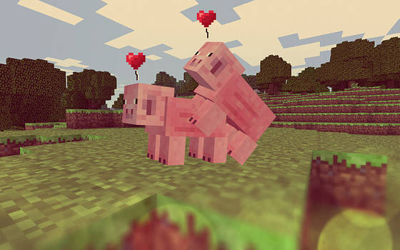 The Love Mode of Minecraft