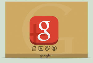 The New Red Icon Google+