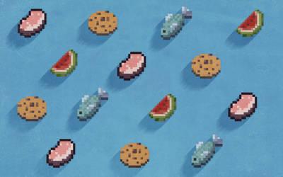 Pattern Food Minecraft