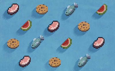 Pattern Food Minecraft