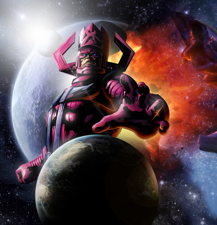Galactus, Devourer of Worlds : comicbooks