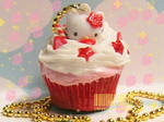 Hello Strawberry Cupcake Kitty
