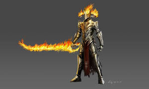 The Knight of Flame