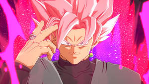 Goku Black ssj rose Dragon ball fighterz