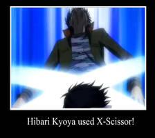 Hibari is a pokemon by lovinchatsakusyle