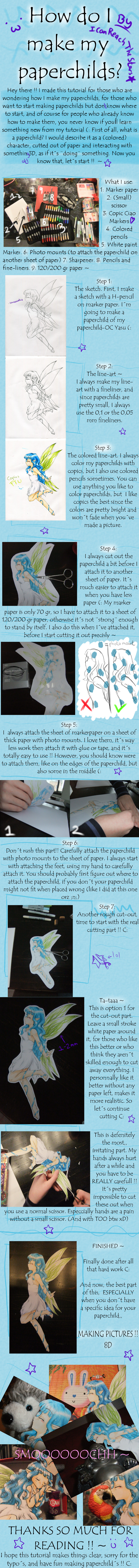 Paperchild tutorial by ICanReachTheStars