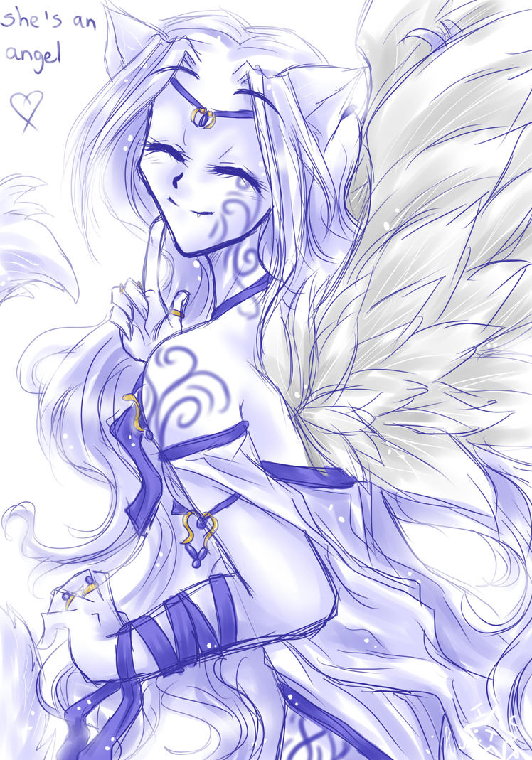 She's an angel by ICanReachTheStars