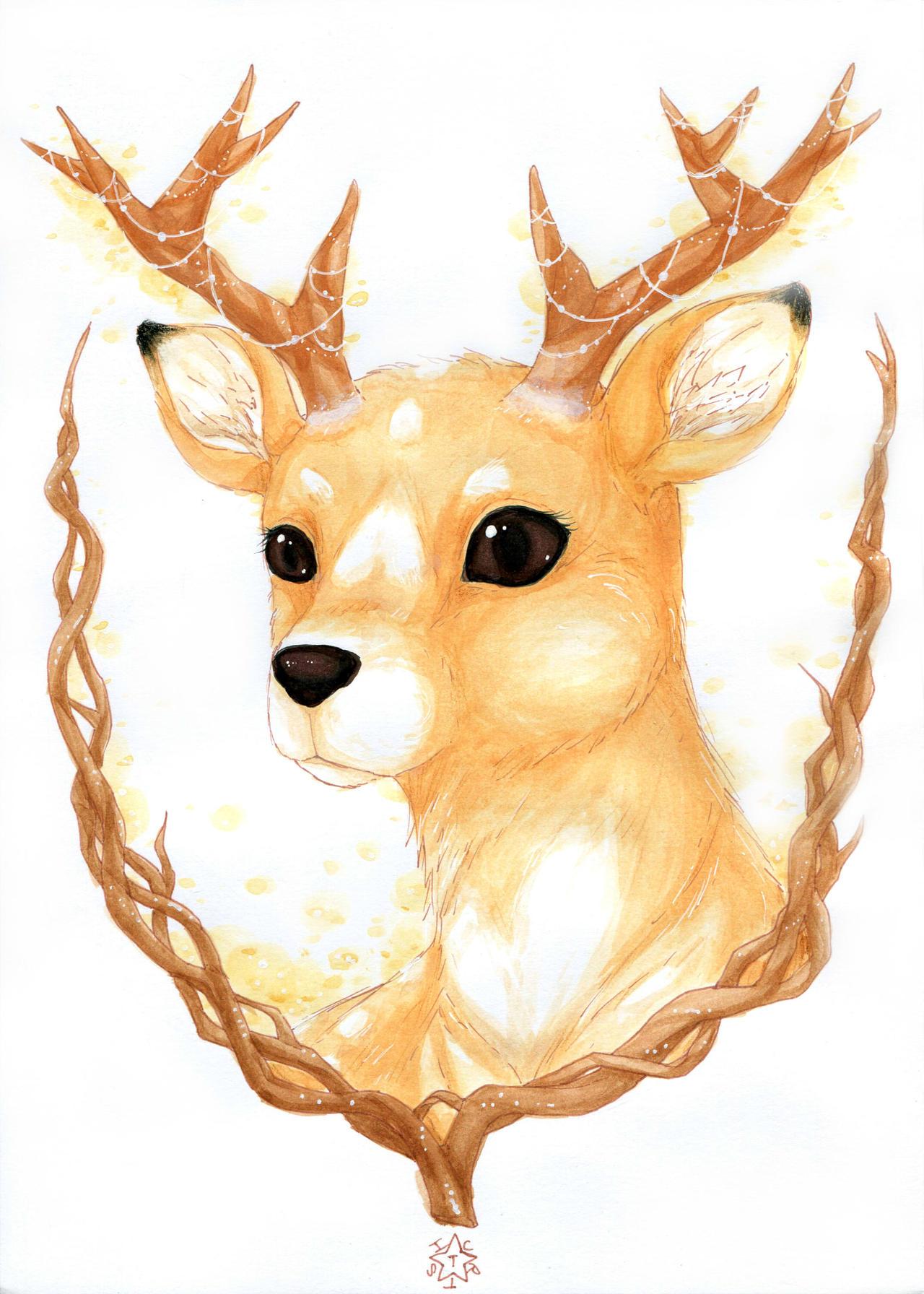 Oh my dear Deer by ICanReachTheStars