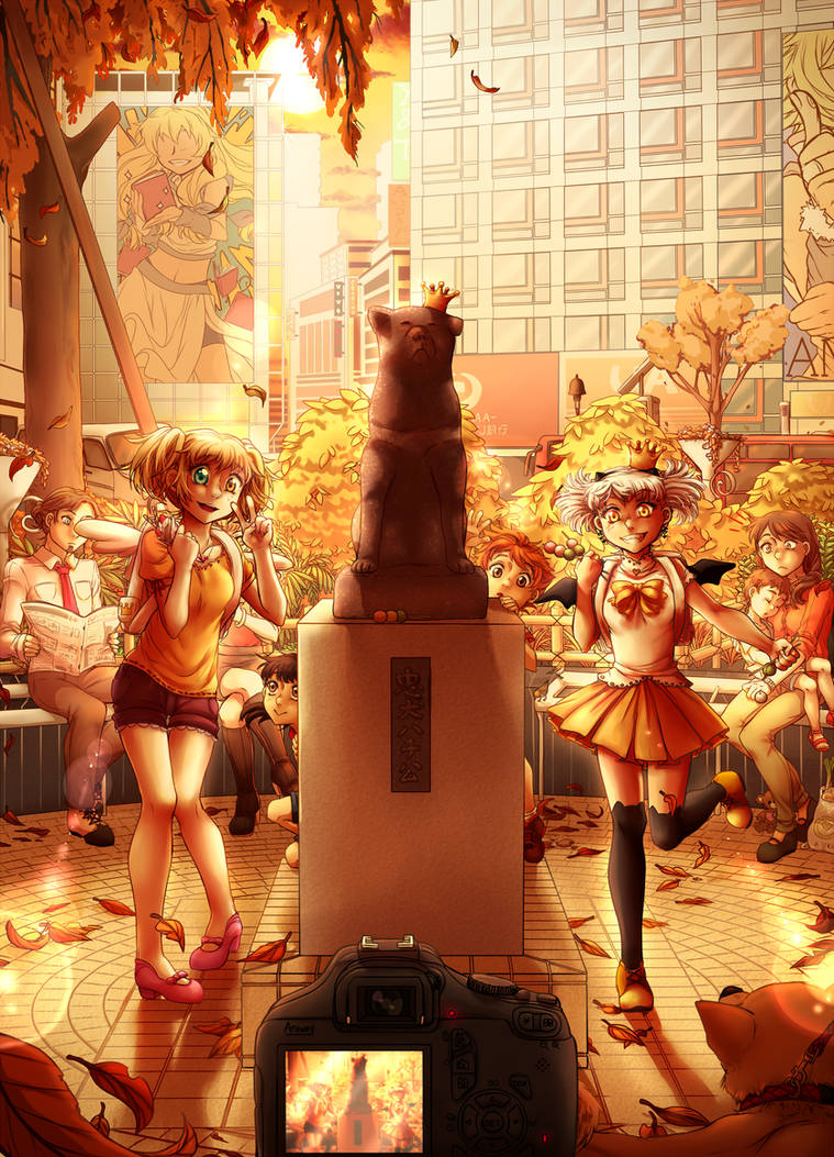 Aniway 2016 - Meet me at the Hachiko Statue by Tamorii