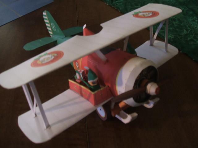 Santa Bio-plane by Allhallowseve31