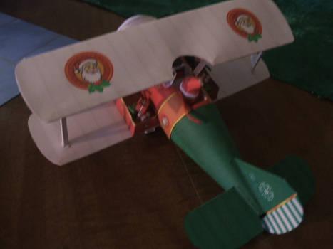 Santa bio-plane