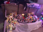 Garfield Christmas Village