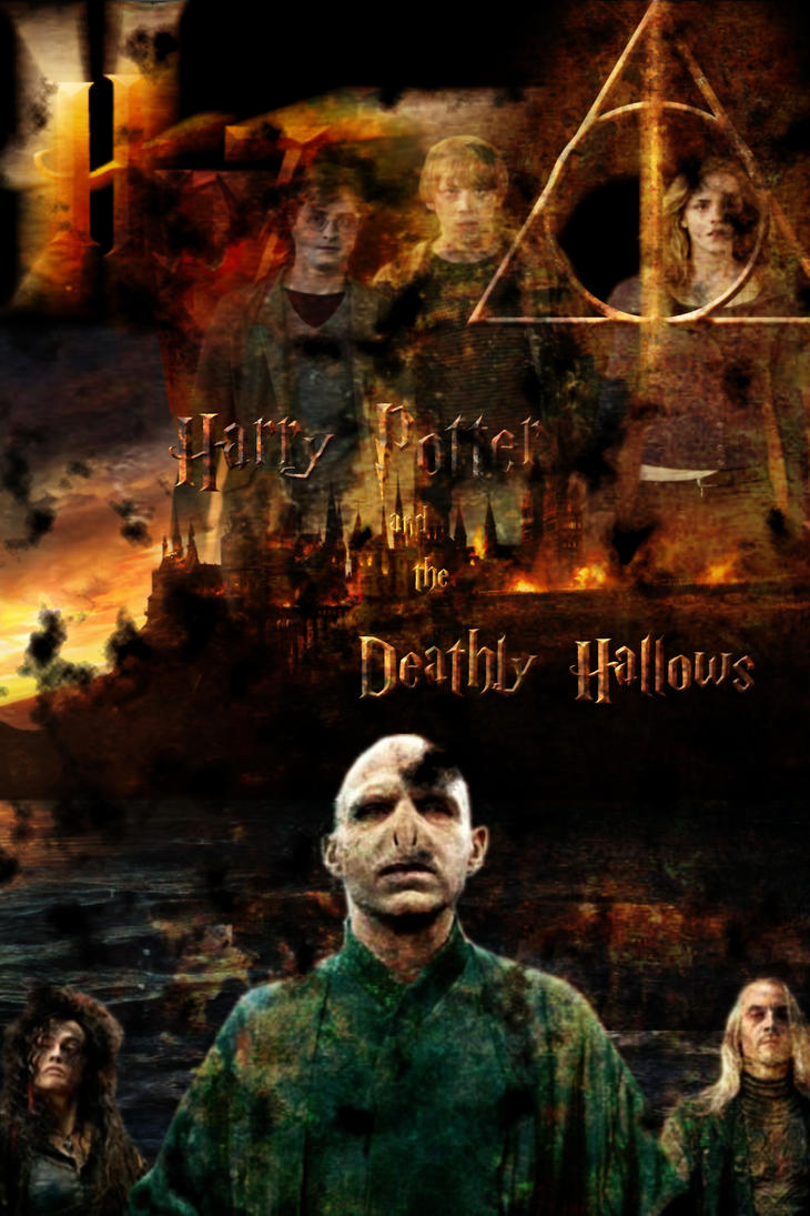 Harry Potter7 Deathly Hallows by Dark-Lord-of-Sith