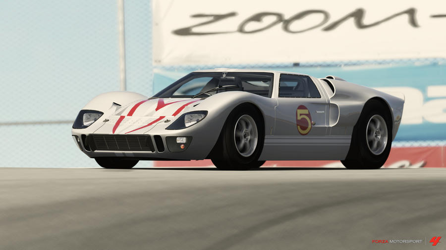 Speed Racer Mach Ford Gt   By Dark Lord Of Sith