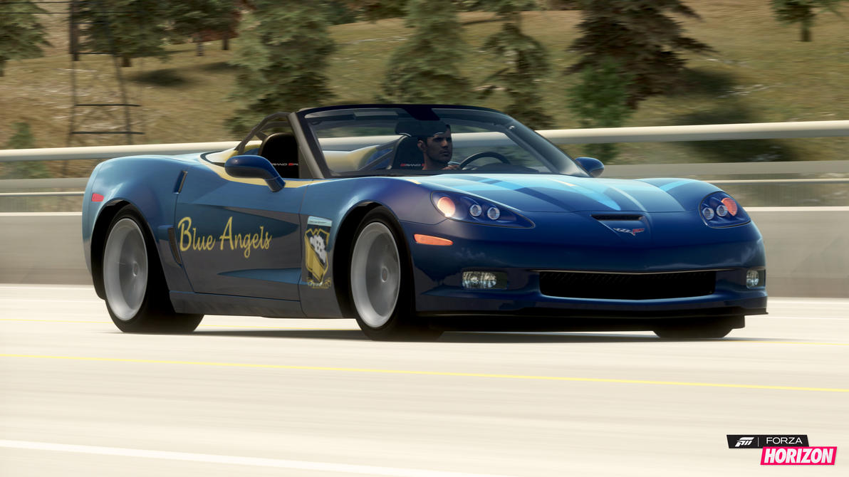 Blue Angels Corvette >> United States Navy Blue Angels Corvette Horizon by Dark-Lord-of-Sith on DeviantArt
