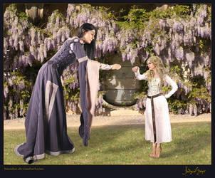 Arwen and Elanor_by_kiwidoc by kiwidoc