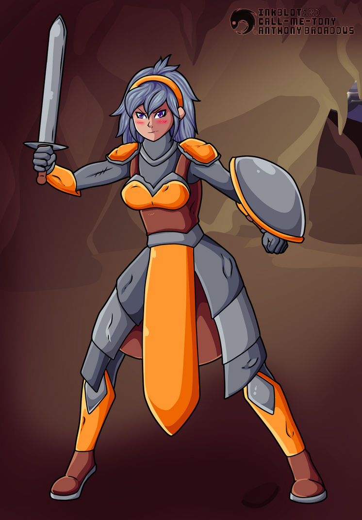 Pre-Dragon-knight by Inkblot123