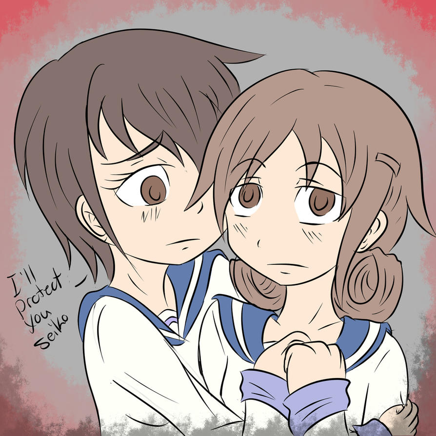 Anime corpse party seiko and naomi