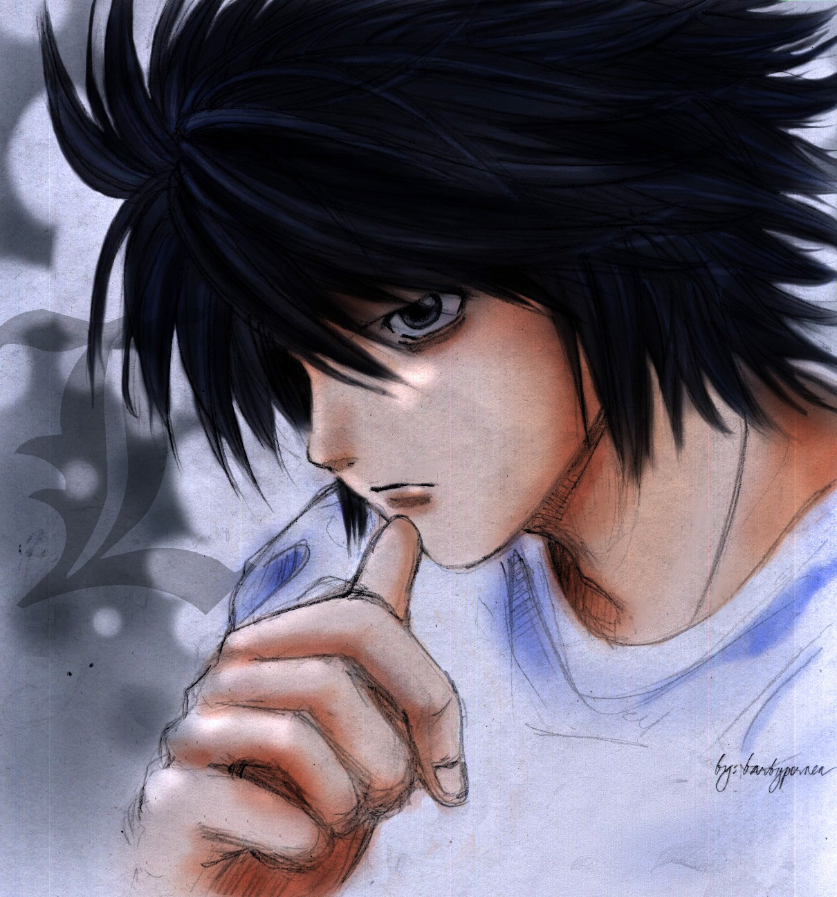 Changing my avatar  need good  L Death Note Avatar