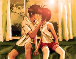 Alone with you -SakuSyao by barbypornea