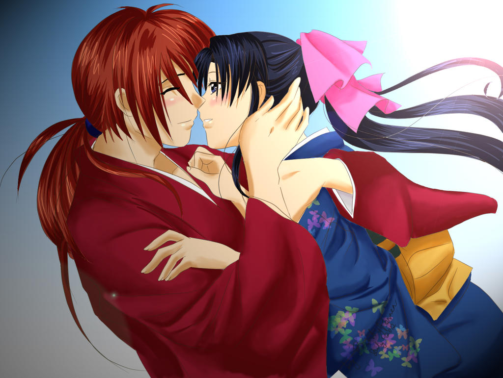 Kenshin and Kaoru: Lonely No More by barbypornea on DeviantArt