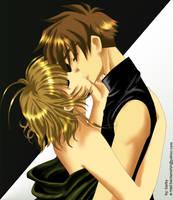 Another Kiss: Syaoran Sakura by barbypornea