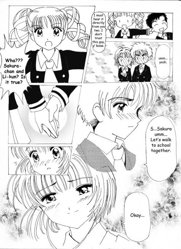 Cardcaptor hentai comic blond