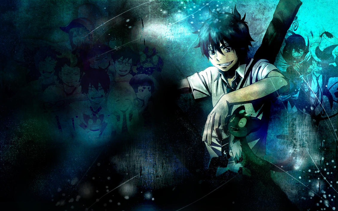 Ao no exorcist wallpaper by Tkaczka