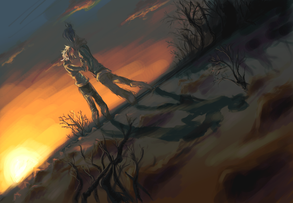 No.6 Nezushi Sunset by Tkaczka