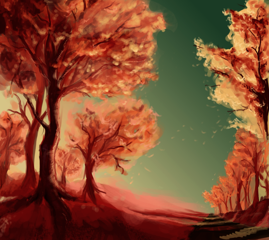 Hipsterowkie drzewka by Tkaczka
