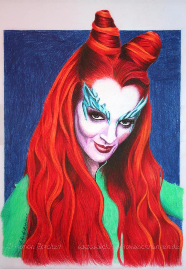 Poison Ivy by WitchiArt on DeviantArt