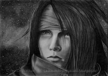Vincent Valentine by WitchiArt