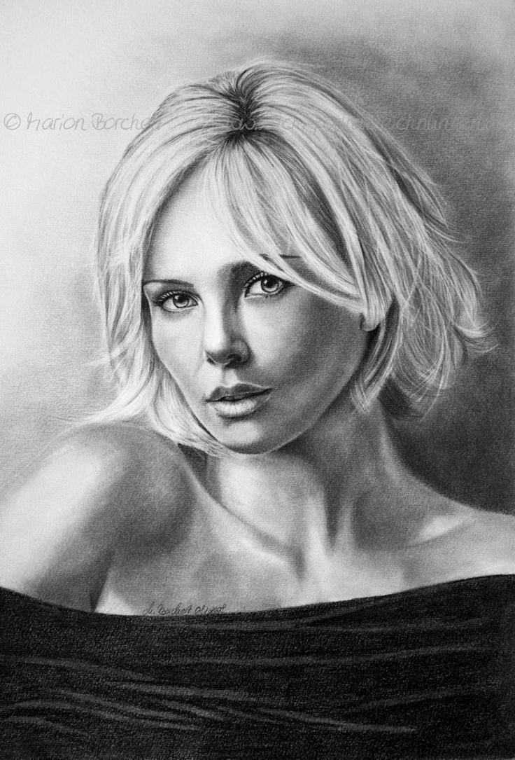Charlize Theron II by WitchiArt