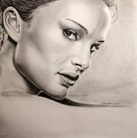 Natalie Portman by WitchiArt