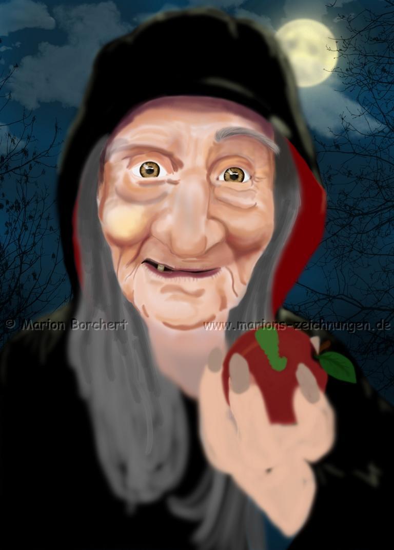 Wicked Witch WIP 1 by WitchiArt