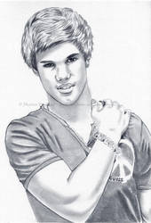 Taylor Lautner Collaboration by WitchiArt