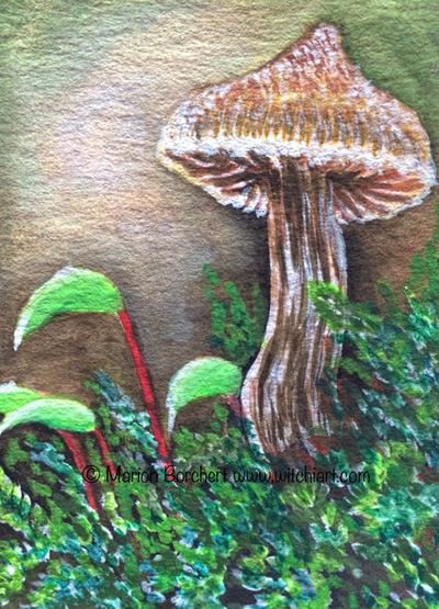 Mushroom Duftender Guertelfuss by WitchiArt