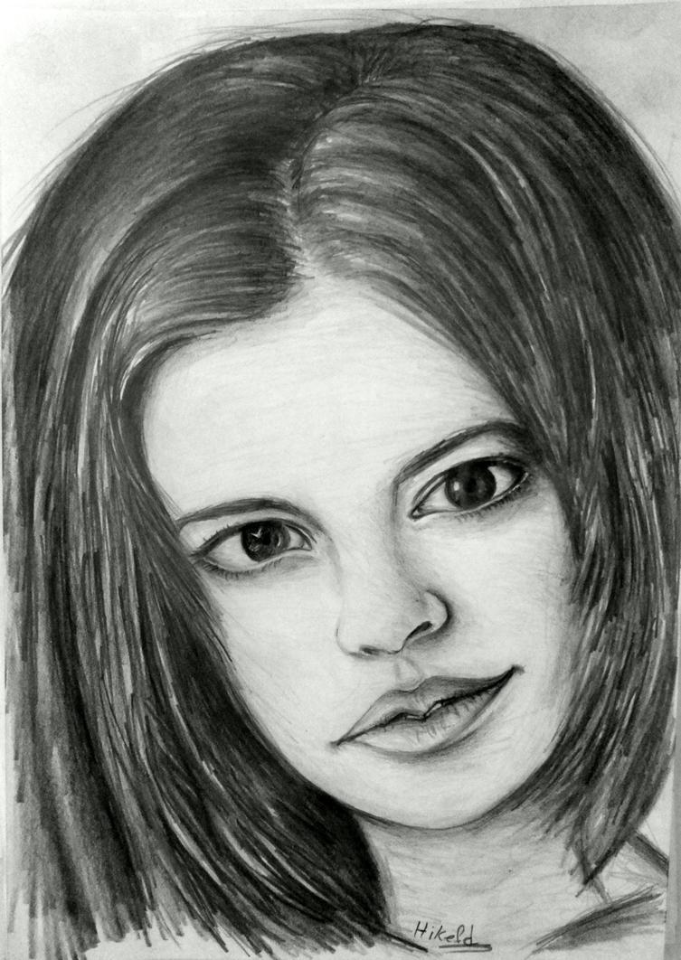 portrait #2 by hikefd